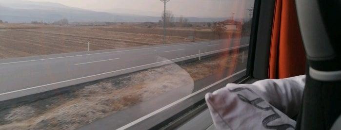 Yozgat- Ankara Yolu is one of Yasemin Arzu'nun Kaydettiği Mekanlar.