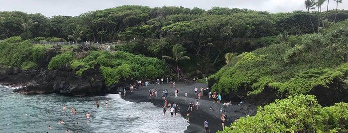Wai'anapanapa State Park is one of Maui 🏝🌺.