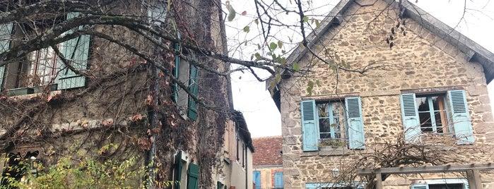 Gargilesse-Dampierre is one of Les plus beaux villages de France.