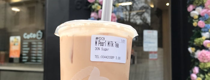 CoCo Fresh Tea & Juice is one of Londres.