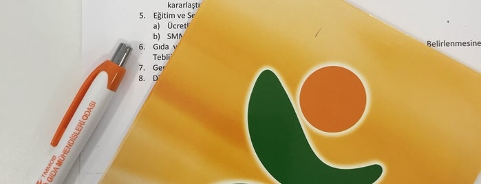 TMMOB Gıda Mühendisleri Odası is one of İstek listesi.