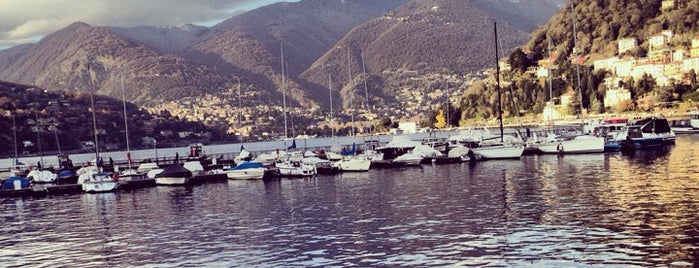 Porto di Como is one of Lugares favoritos de Ismail.