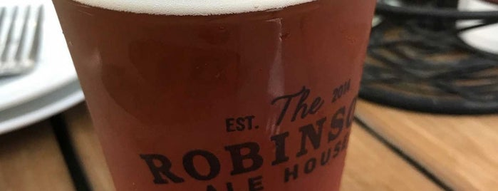 The Robinson Ale House is one of สถานที่ที่บันทึกไว้ของ Lizzie.