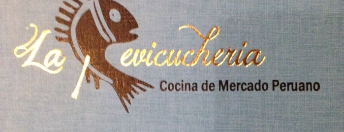 La Cevicucheria is one of Locais salvos de Carol.