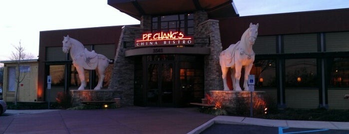 P.F. Chang's is one of Favorites.