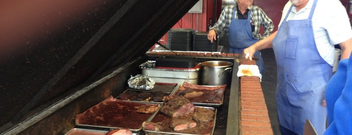 Cooper's Old Time Pit BBQ is one of Texas Monthly's Top 50 BBQ Joints in Texas.