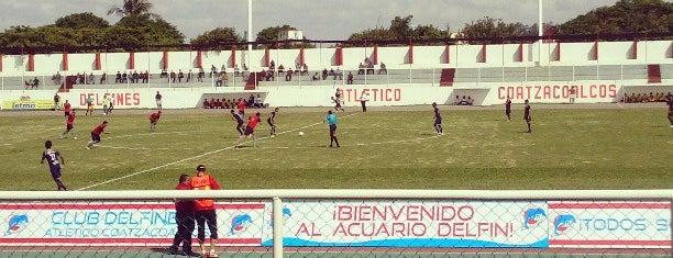 Estadio de futbol Hernandez Ochoa is one of Tempat yang Disukai Changui.