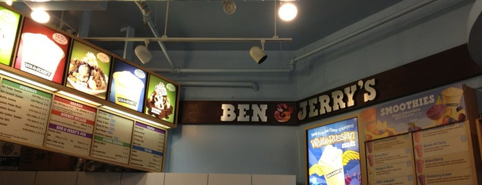 Ben & Jerry's is one of Seattle.