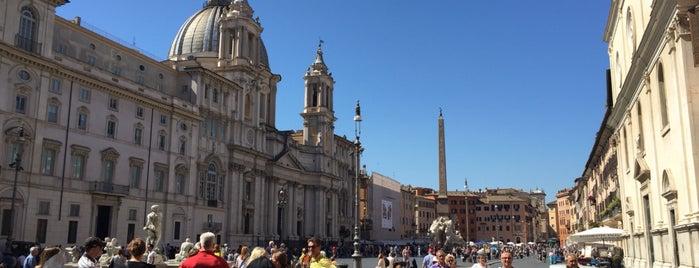 Piazza Navona is one of Ellen 님이 좋아한 장소.