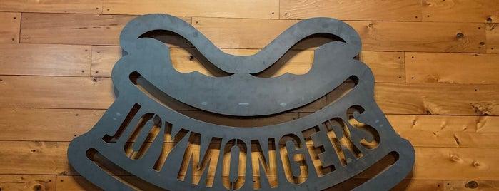 Joymongers Brewing Co. is one of Greensboro.