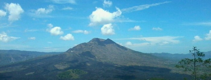 Gunung Batur is one of Bali.