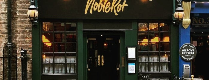Noble Rot Soho is one of Hot Dinners Top 40.