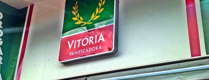 Panificadora Vitória is one of Tempat yang Disimpan Thiago.