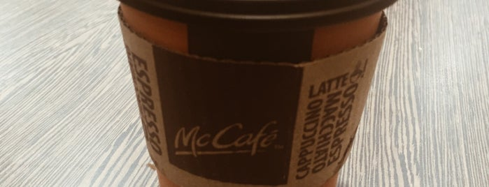 McCafé is one of BEEN THERE.
