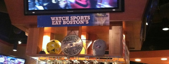 Boston's Restaurant & Sports Bar is one of Top Local Bars for Blue Jackets fans.