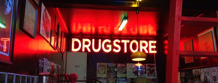 Drugstore is one of Brunch & Caw-fee.