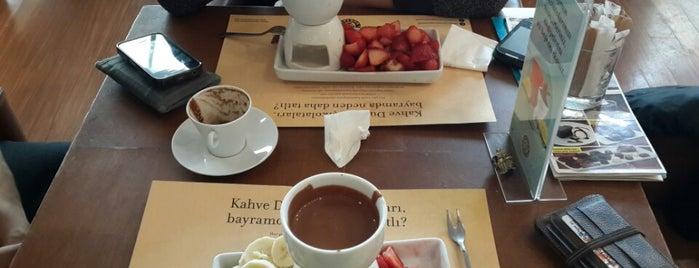 Kahve Dünyası is one of Tempat yang Disukai Yunus.