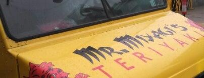 Mr Miyagi's Teriyaki is one of Washington DC Food Trucks.