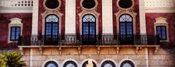 Pousada de Faro, Palácio de Estoi is one of สถานที่ที่ Alexandre ถูกใจ.