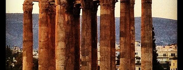 Temple de Zeus Olympien is one of Athens.