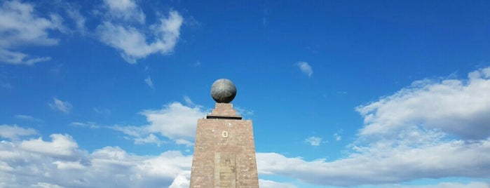 Mitad Del Mundo (Middle Of The World) is one of Quito.