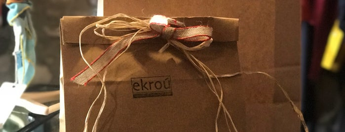 Ekroú Boutique is one of Urla.