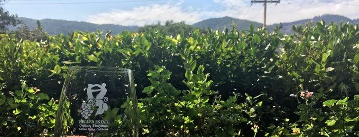 Heller Estate Organic Vineyards is one of Carmel/Monterey.