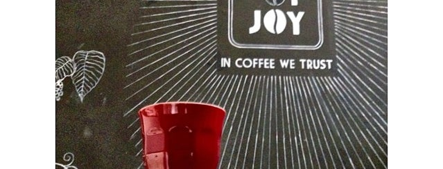 Cup of Joy is one of Favorite Coffee Places.