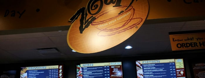 Zoup! is one of Lieux qui ont plu à Kaleigh.