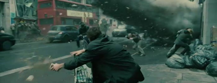 Fleet Street is one of Children of Men (2006).