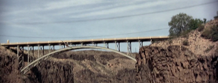 Hurricane Arch Bridge is one of Black Snake Moan.