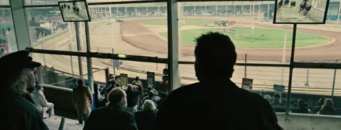 Wimbledon Greyhound Stadium is one of Children of Men (2006).