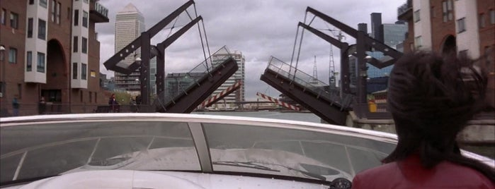Glengall Bridge is one of Greenwich and Docklands; London.