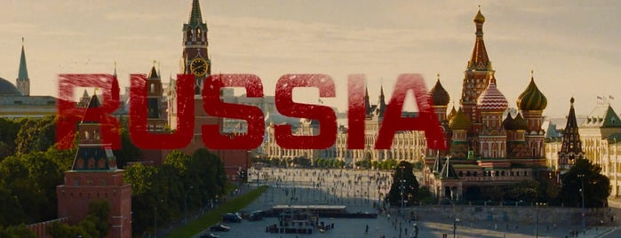 The Kremlin is one of RED 2 (2013).