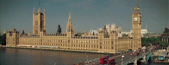 Westminster Sarayı is one of .Manu'nun Kaydettiği Mekanlar.