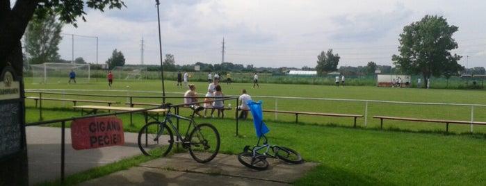Futbalový štadión Vrádište is one of Futbalové štadióny ObFZ Senica.