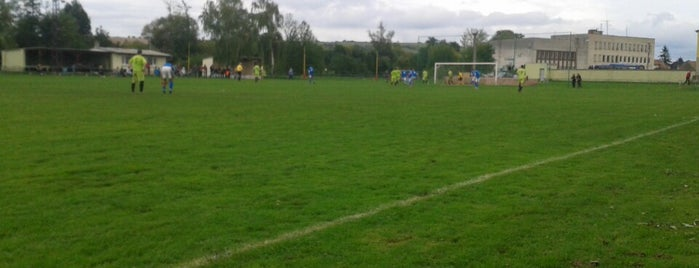 Futbalový štadión Popudinské Močidľany is one of Futbalové štadióny ObFZ Senica.