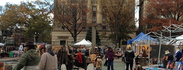 Brooklyn Flea - Fort Greene is one of Beyond Manhattan.