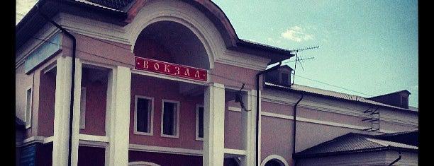 Вокзальная площадь is one of Lugares favoritos de Илья.