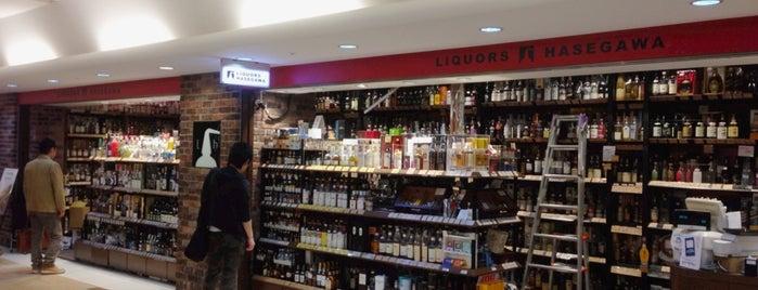 Liquors Hasegawa is one of Lugares favoritos de 高井.