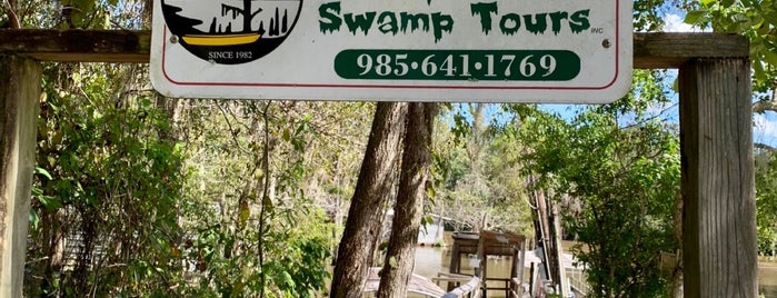 Dr. Wagner's Honey Island Swamp Tour is one of NOLA - See.