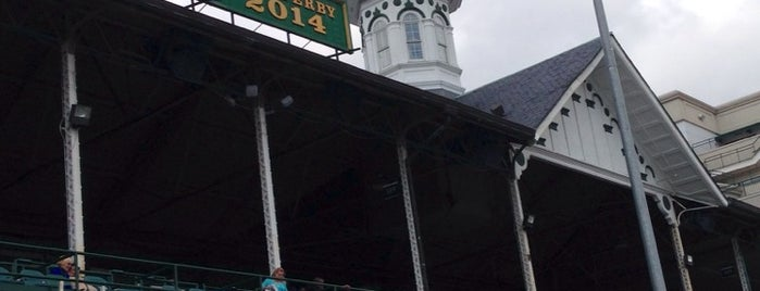 Churchill Downs is one of if you're ever in ____.