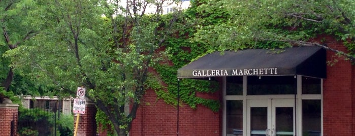 Galleria Marchetti is one of Chicago hangouts.