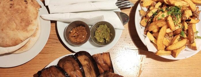 Hummus Bar is one of Posti salvati di Aaron.