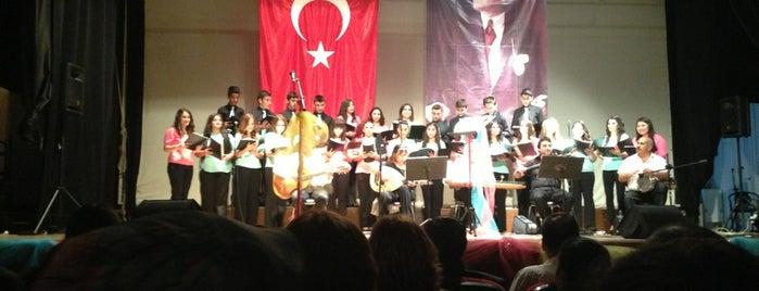 Hasan Ali Yücel Kültür Merkezi is one of K'ın Beğendiği Mekanlar.
