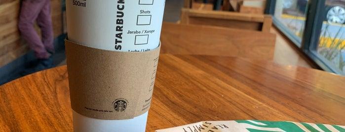 Starbucks is one of René : понравившиеся места.