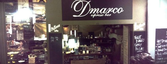 D'Marcos Espresso is one of สถานที่ที่ Sophie ถูกใจ.