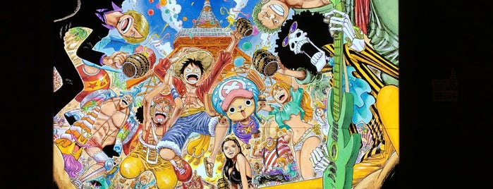 Tokyo One Piece Tower is one of Japan 2017.