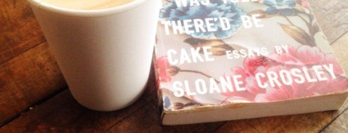 Strangeways is one of NYC  cafe / coffee lovers (esp soy milk drinkers).