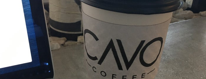 Cavo Coffee is one of Houston.